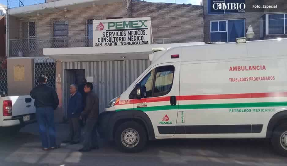 Secretaria de Salud realiza inspección en clínica de Pemex en Texmelucan