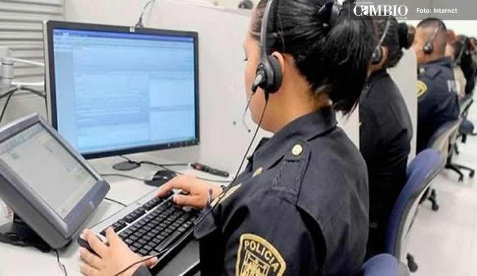 Operadores del 911 en Texmelucan restan el tiempo de respuesta en auxilios