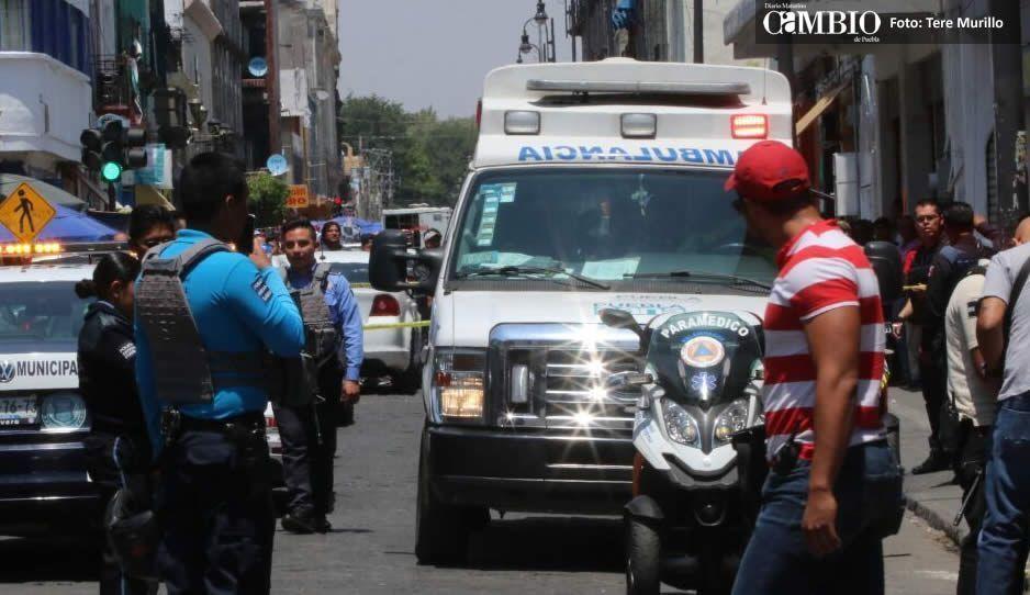 Checa los VIDEOS de la balacera que paralizó el Centro Histórico de Puebla