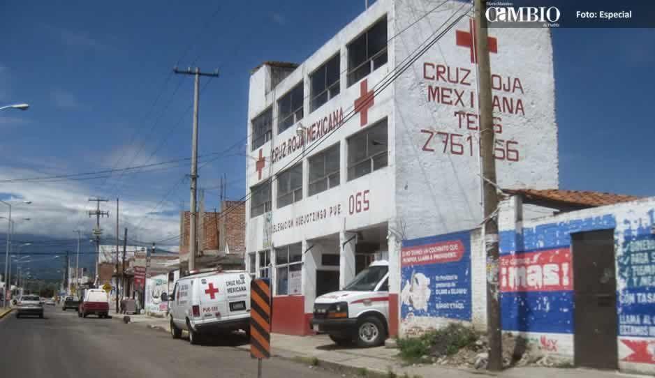 Cruz Roja de Huejotzingo busca construir un nuevo edificio
