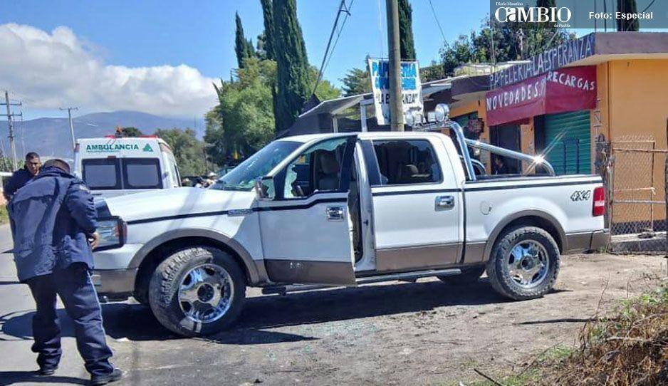 Hieren a un hombre en balacera en Tlacotepec de Juárez