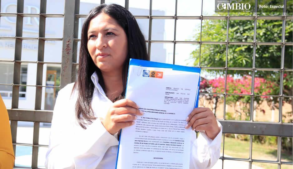 Ana Cristina Ruiz denuncia por violencia de género contra candidatos de Morena