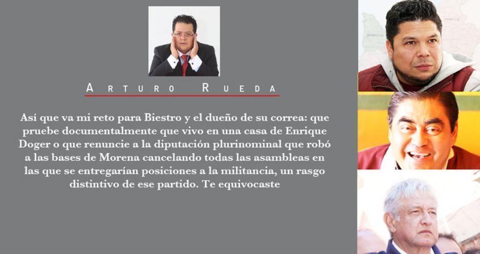 Mi reto a Biestro: razones para el voto diferenciado en Puebla