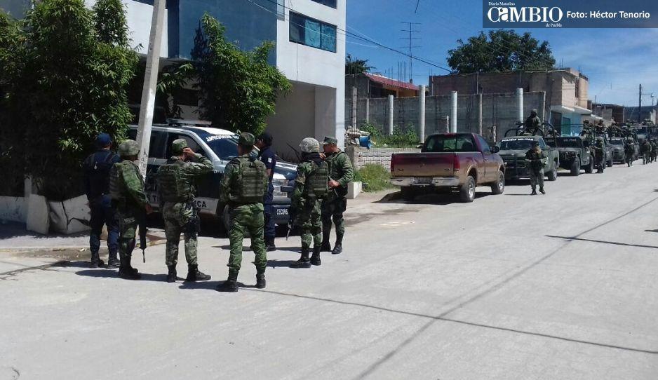 Militarizan ductos de Pemex en Texmelucan y Huejotzingo