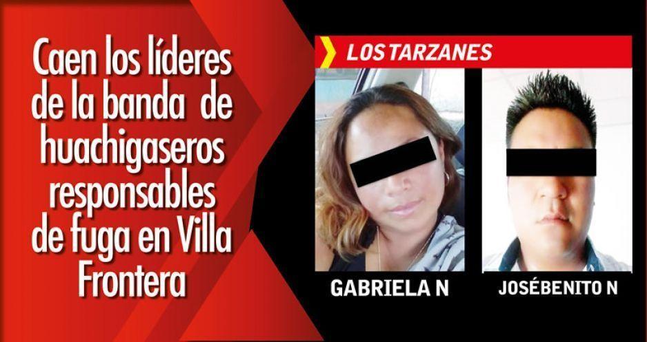 Caen los líderes de la banda de huachigaseros responsables de fuga en Villa Frontera