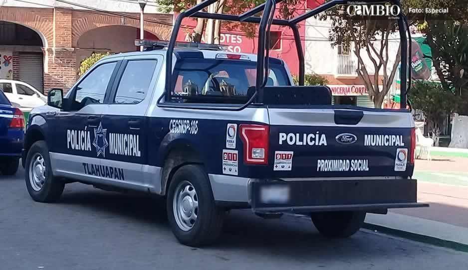 Policías salvan a dos ladrones de ser linchados en Tlahuapan