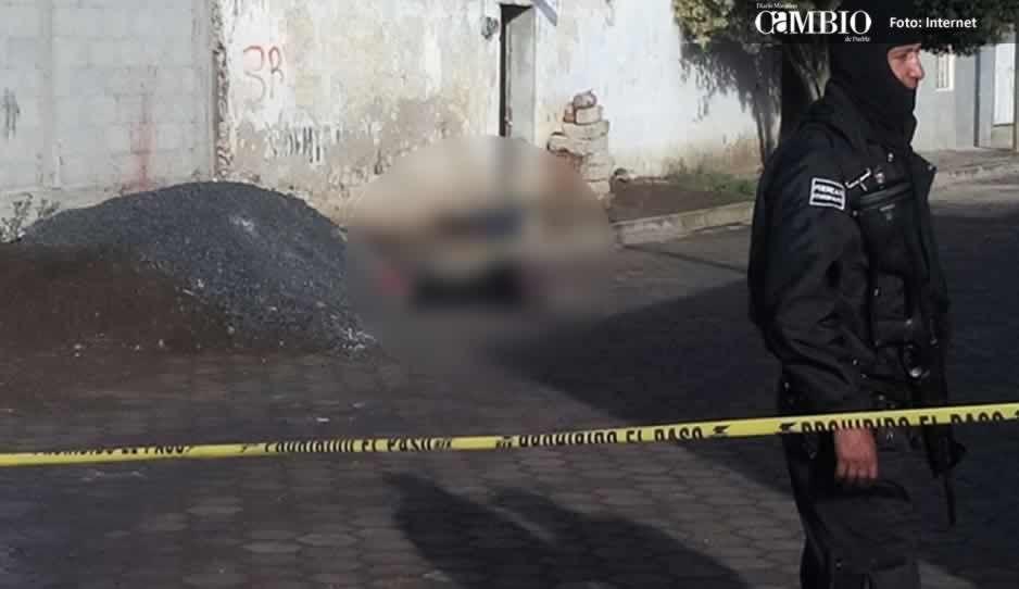 Continúan las ejecuciones en Tlahuapan, ahora hallaron un cuerpo en la colonia Las Delicias