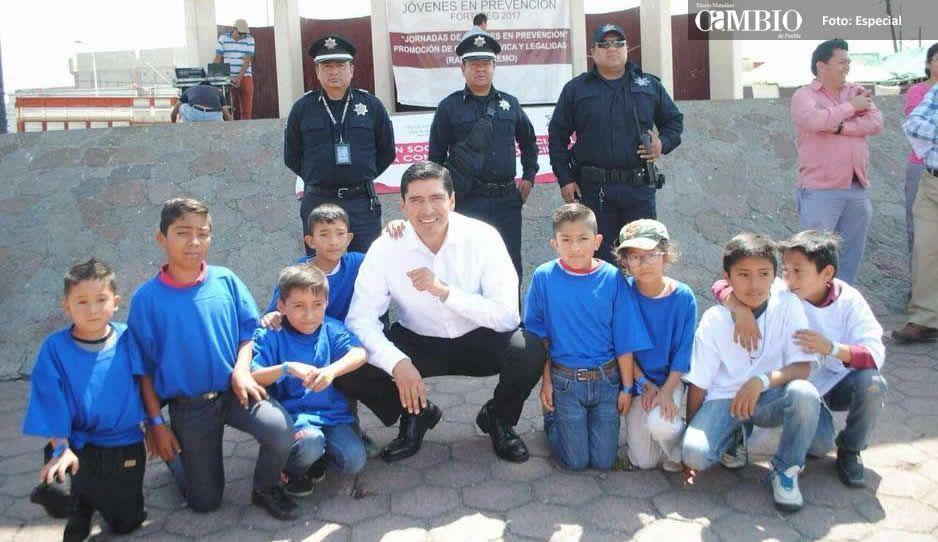 Alcalde de Huejotzingo mejora las condiciones laborales a policías