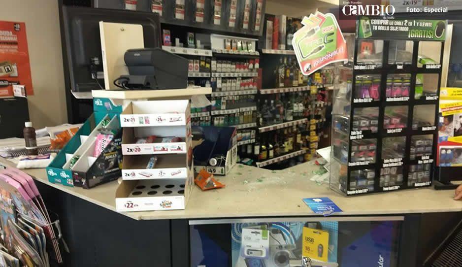 Por robar una cerveza sujeto golpea a una trabajadora del Oxxo