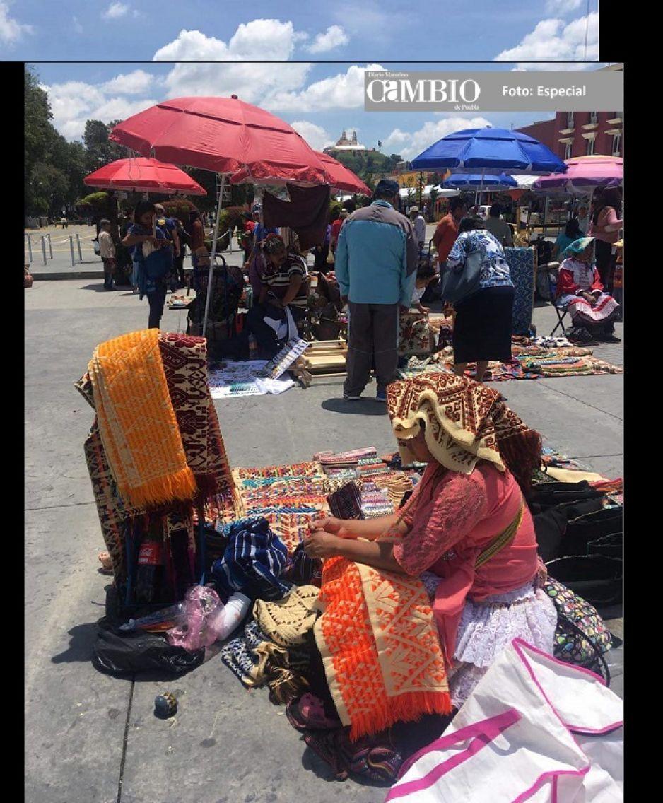 Reviven el trueque en San Pedro Cholula