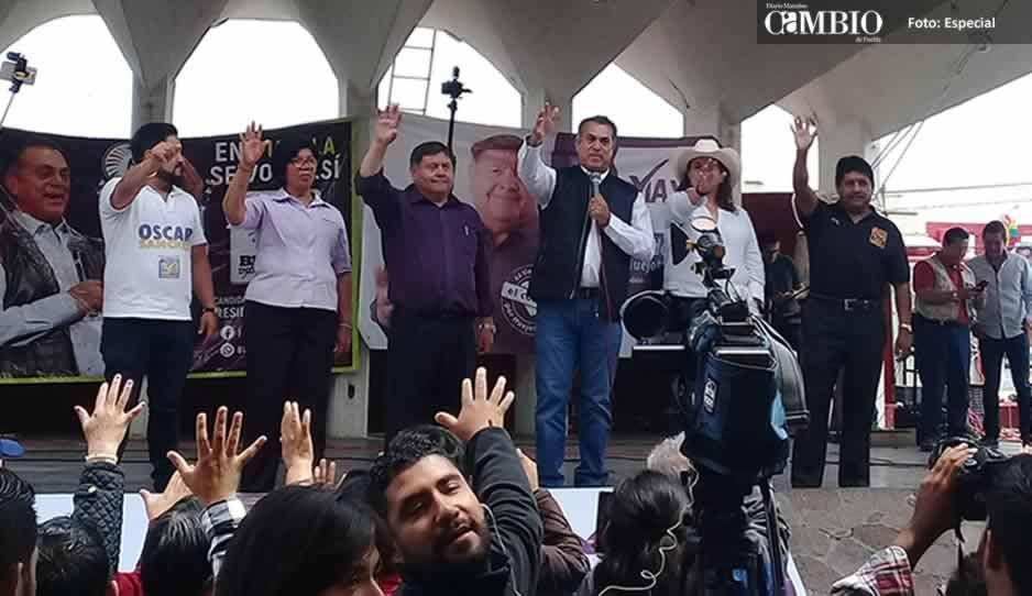 En Puebla me chingaré a los ladrones de combustible: El Bronco