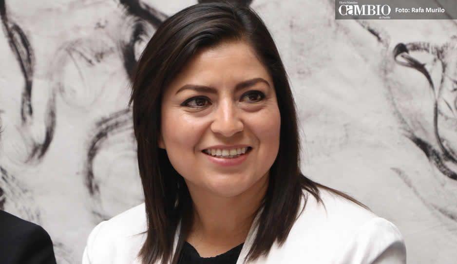 Claudia Rivera pide al Congreso que más mujeres ocupen cargos de jueces y magistrados