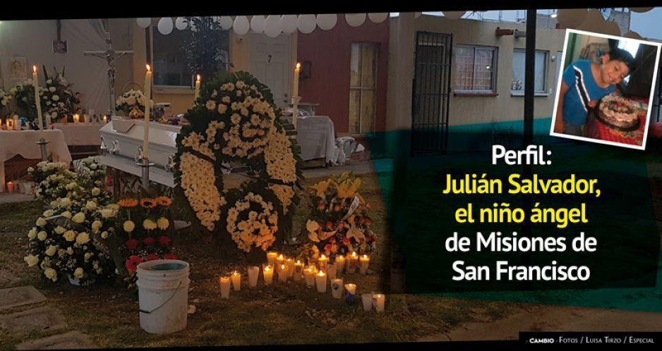 Perfil: Julián Salvador, el niño ángel de Misiones de San Francisco