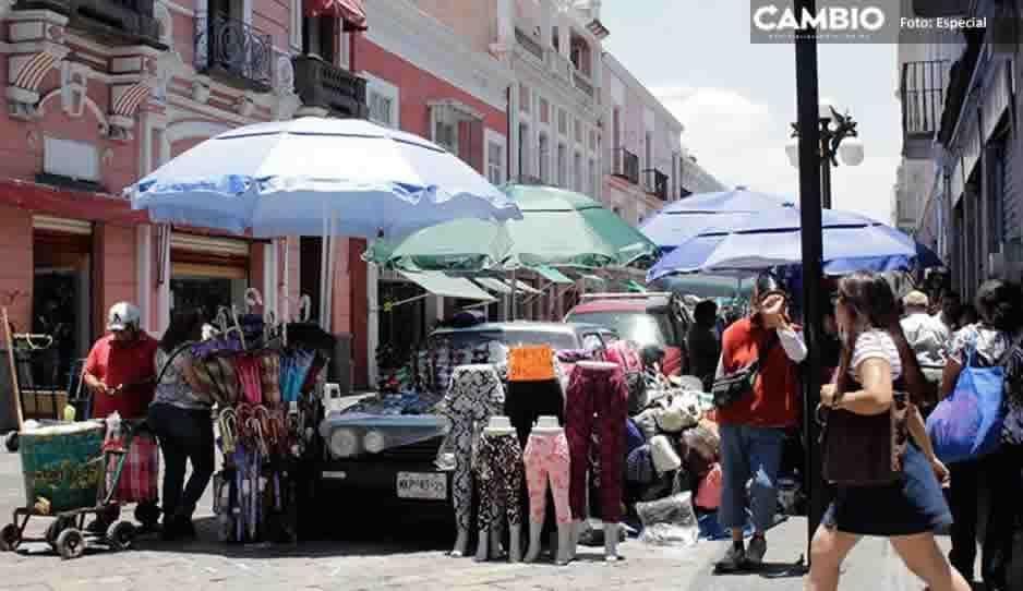 Gobierno de Claudia Rivera es millenial: pagará app de 500 mil pesos para censar ambulantes