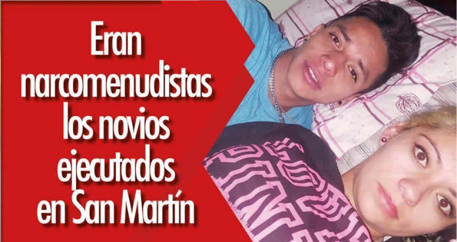 Eran narcomenudistas los novios ejecutados en San Martín