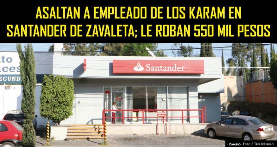 Asaltan a empleado de Los Karam en Santander de Zavaleta; le roban 550 mil pesos