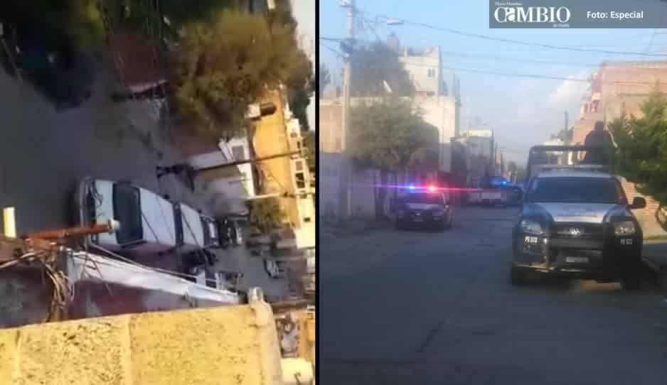 Policía Estatal catea bodega ligada al robo de combustible en Texmelucan