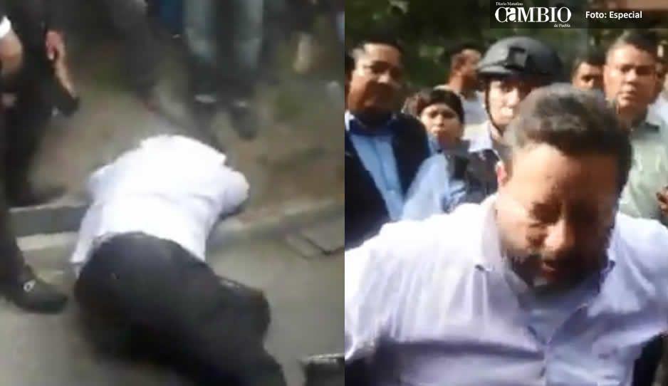 VIDEO: Eukid llega al Hotel MM; lo derriban y casi le da un cardiacazo