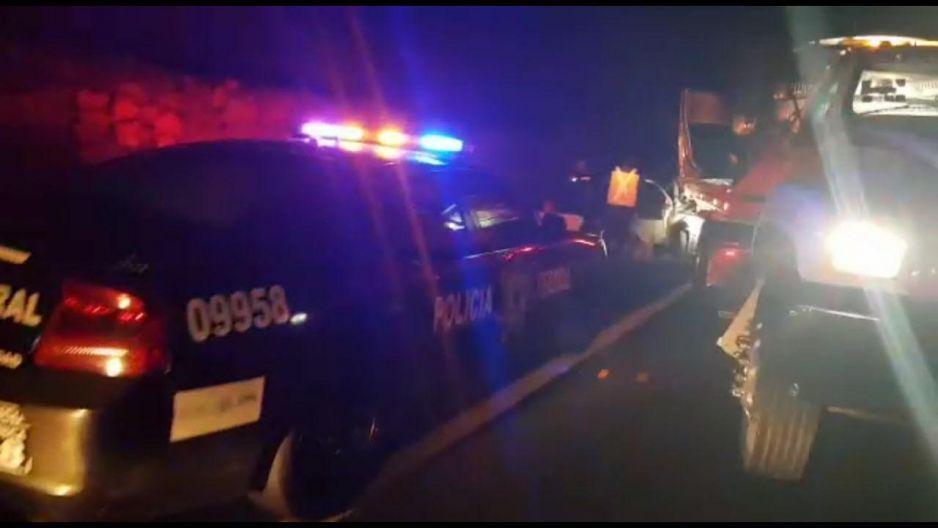 Tres muertos y dos heridos deja accidente en la Amozoc-Perote