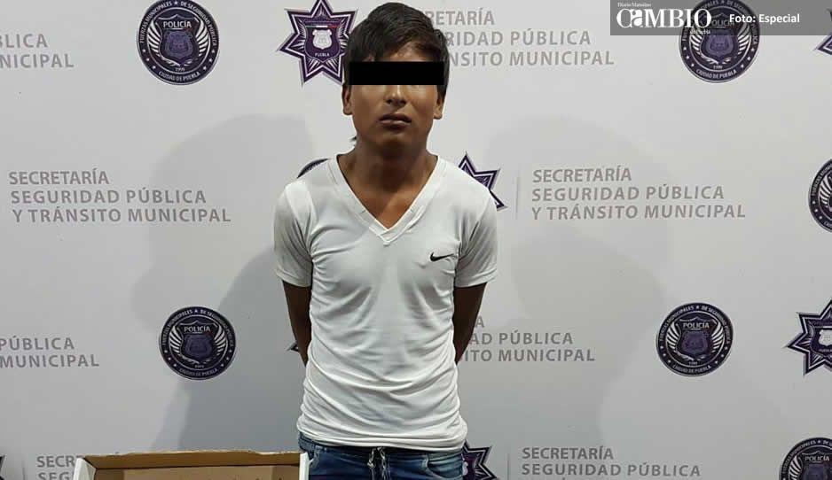 Asaltante de transeúntes ya se encuentra en prisión