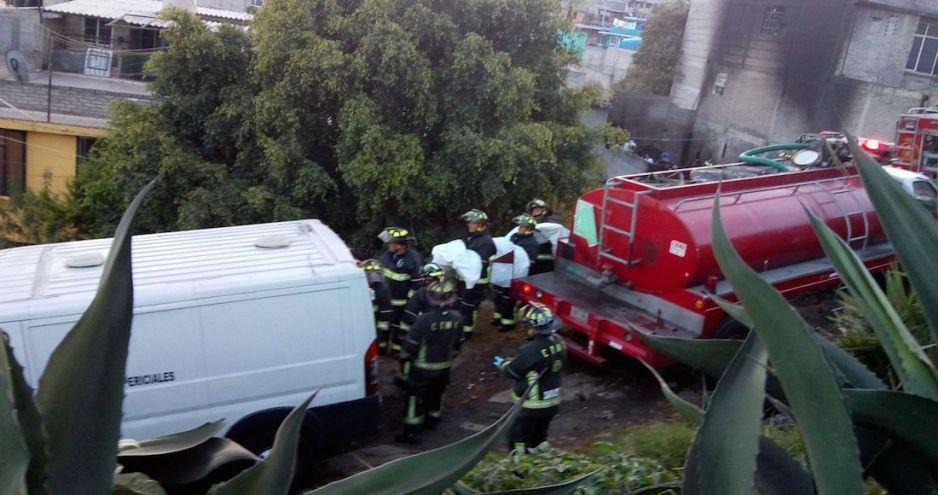 Seis menores mueren calcinados, luego que su casa de madera se incendiara en Iztapalapa