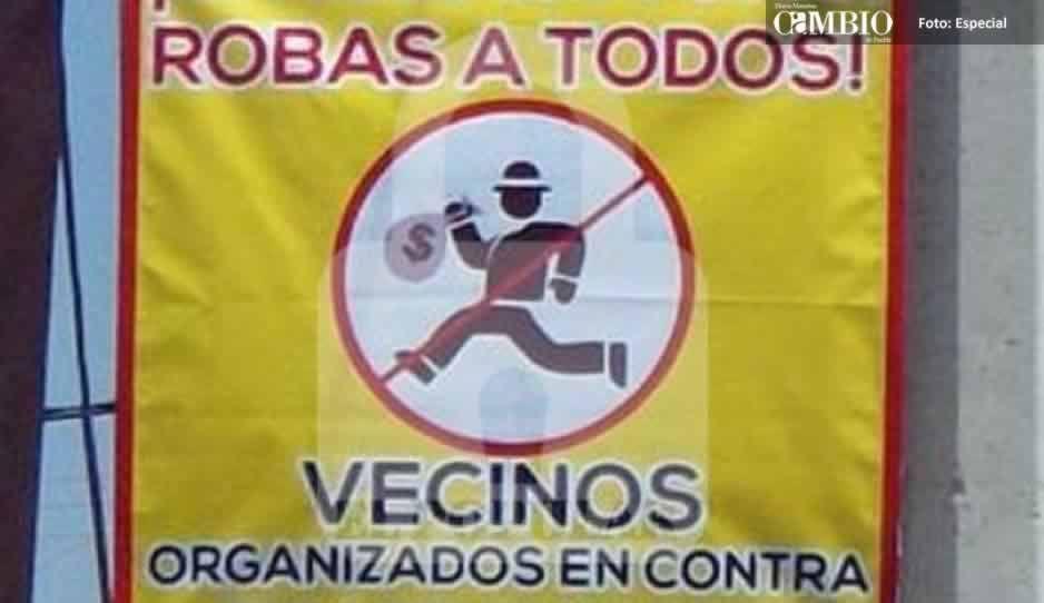 12 comités de vecinos combatirán la delincuencia en comunidad de Texmelucan