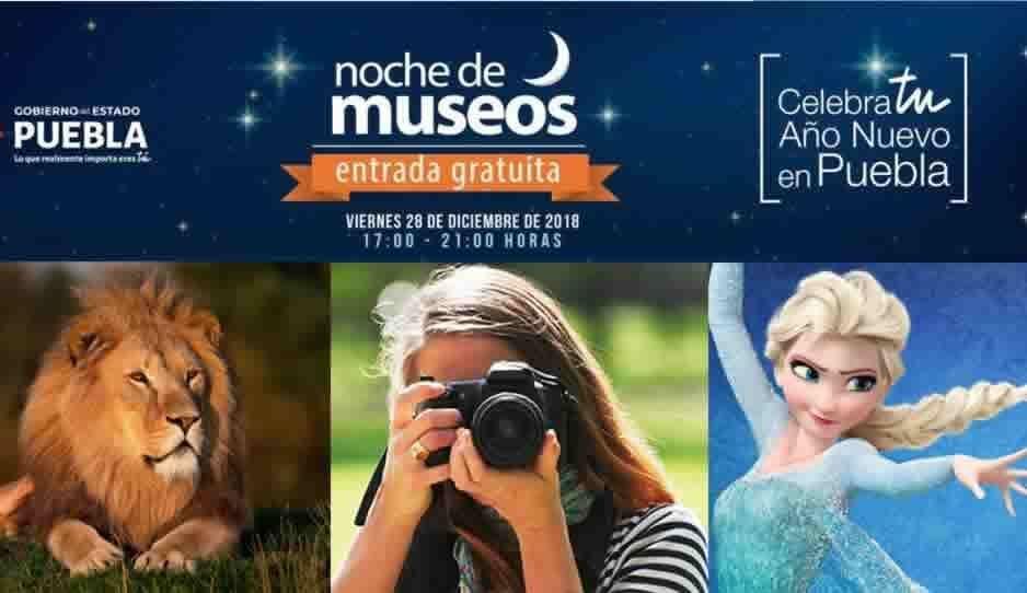 Frozen on ice, noche de museos, safari nocturno, estos y muchas otras cosas que puedes hacer en Puebla este fin de semana