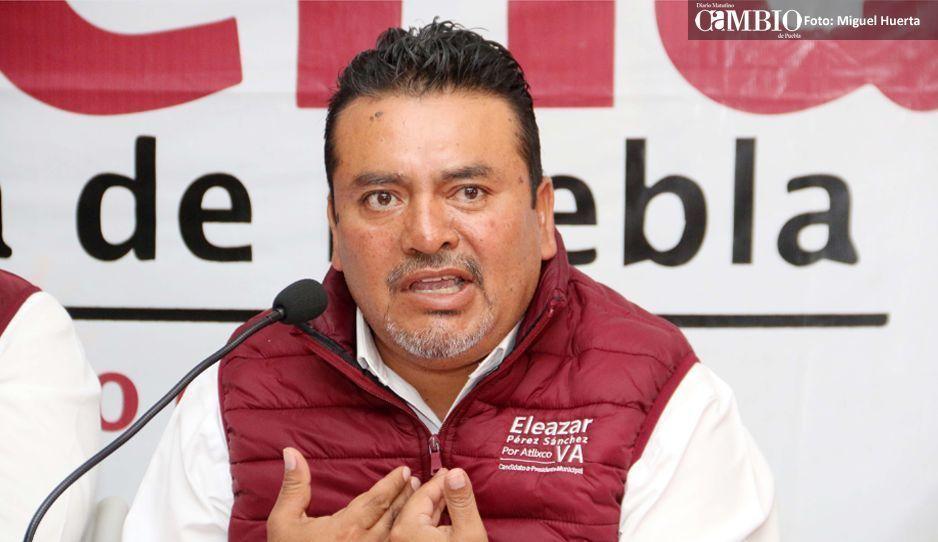 Otra vez pierde Eleazar y Villarroel es candidato de Morena en Atlixco