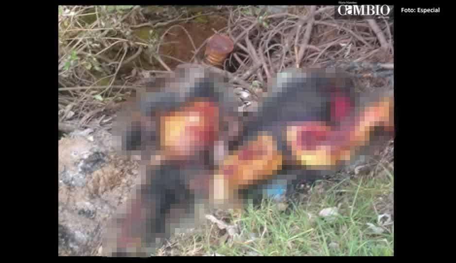 Localizan los restos calcinados de una pareja en Tlahuapan