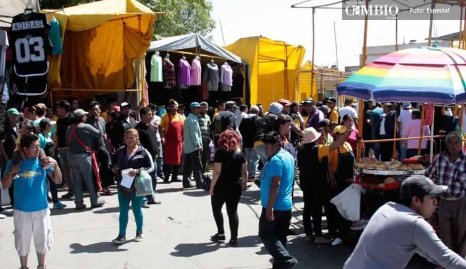 Siguen los robos al interior del tianguis municipal de San Martín