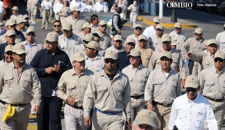 Trabajadores de Pemex piden elecciones  limpias para elegir líder en Texmelucan