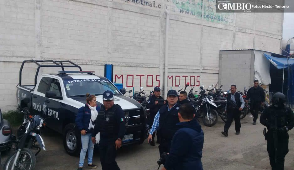 Juntas auxiliares de Texmelucan, abandonadas por la Policía Estatal