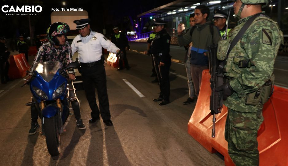 Comuna lleva a cabo primer  operativo con Guardia Nacional