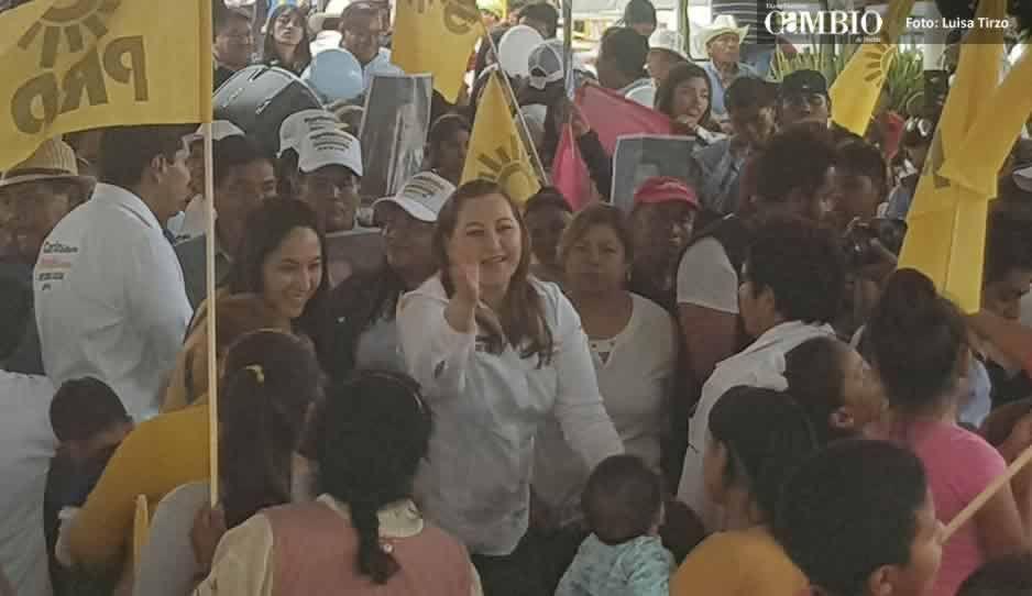 Martha Erika reconoce aumento de inseguridad en Puebla
