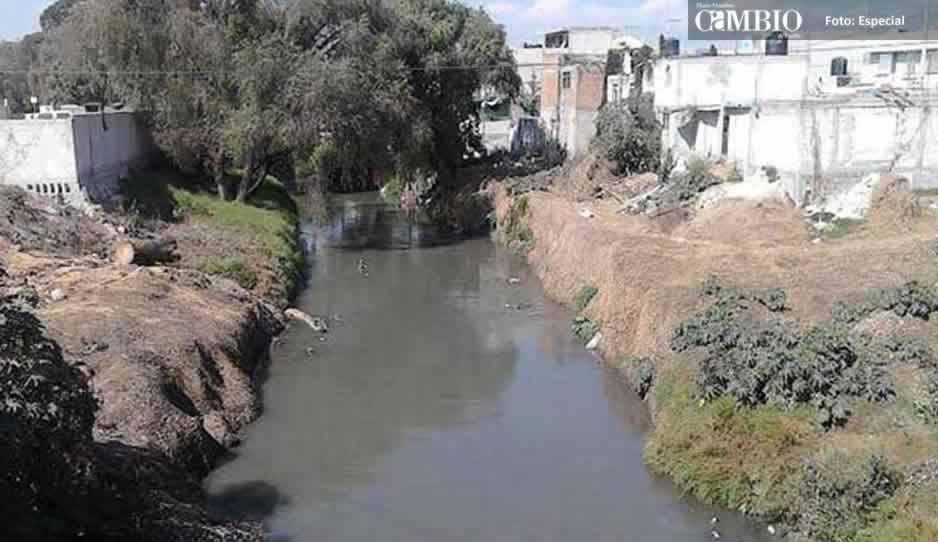 Seguirán los trabajos de dragado del Atoyac para evitar inundaciones en Texmelucan