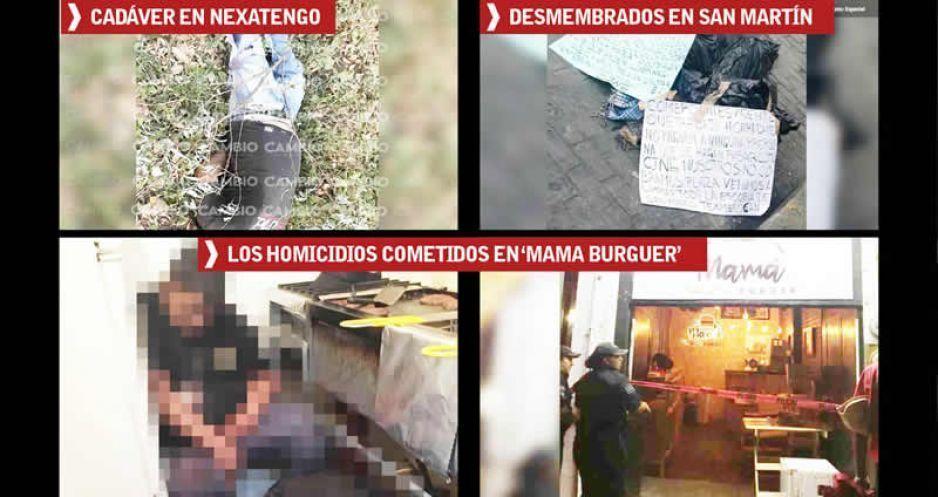 Colocan narcomanta en Puebla