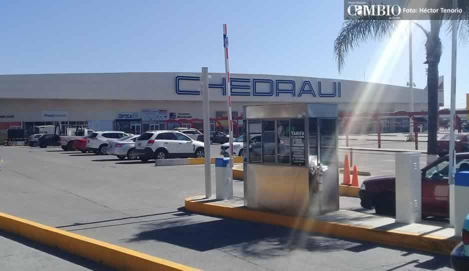 Por carencia en medidas de seguridad suspenden cobro en estacionamiento de Texmelucan