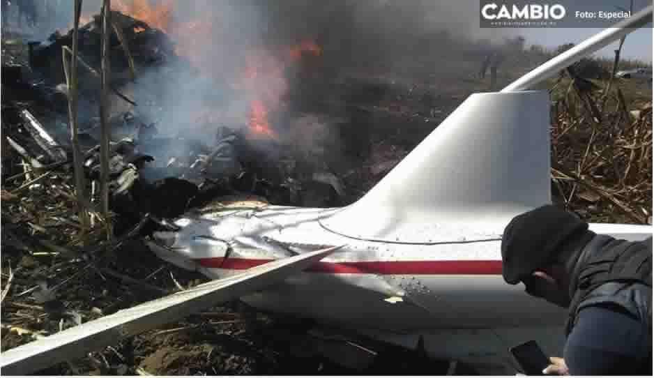 Una pieza se desprendió de la aeronave, golpeó el rotor y provocó la caída en picada, informan a AMLO