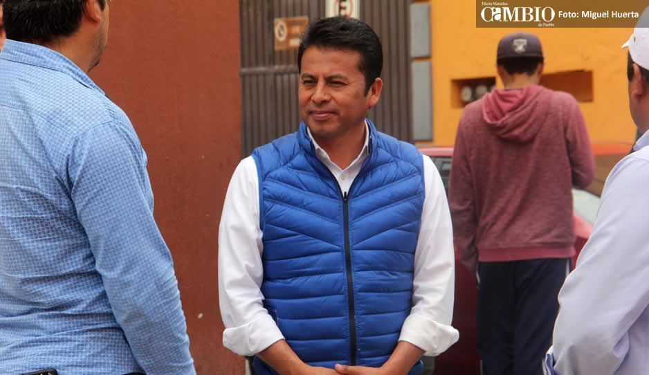 Leo Paisano abre la posibilidad de cancelar Barrio Smart en Tonantzintla