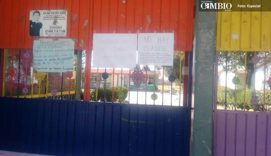 La muerte del Bin Laden de Santa Ana Xalmimilulco provocó cierre de escuelas