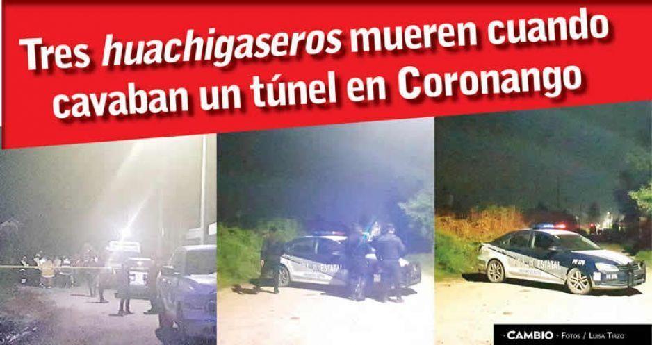 Mueren tres huachigaseros en Coronango al excavar un túnel para ordeñar un ducto (VIDEOS)