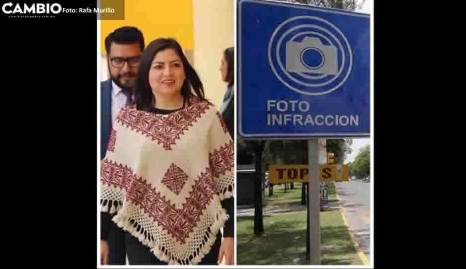 Claudia va por fotomultas en el Centro y Boulevard 5 de Mayo ¿Qué opinas?