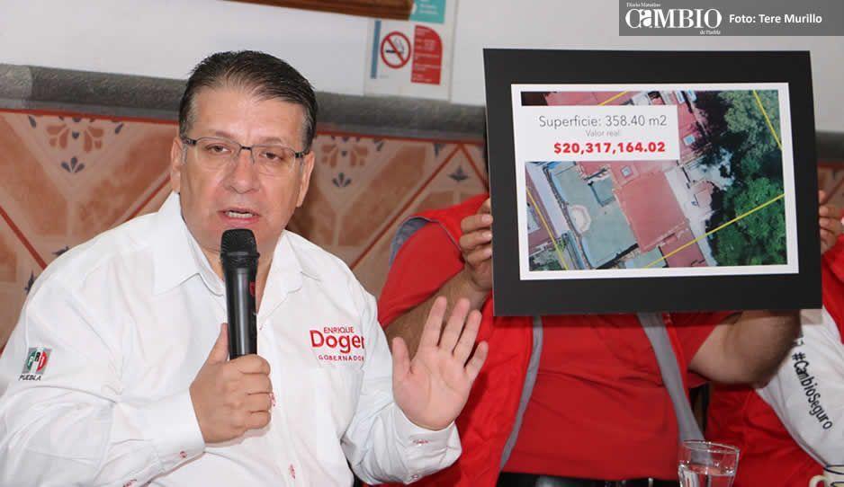 Que Barbosa explique con qué dinero compró la casa del expresidente de la Madrid: Doger