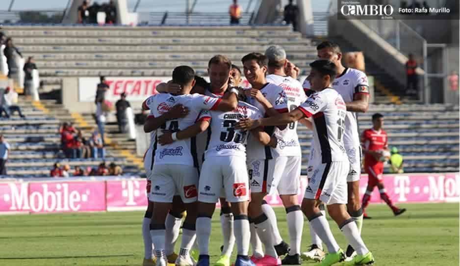 Con gol de Michael Chirinos, Lobos Buap se impone ante Toluca en el primer tiempo