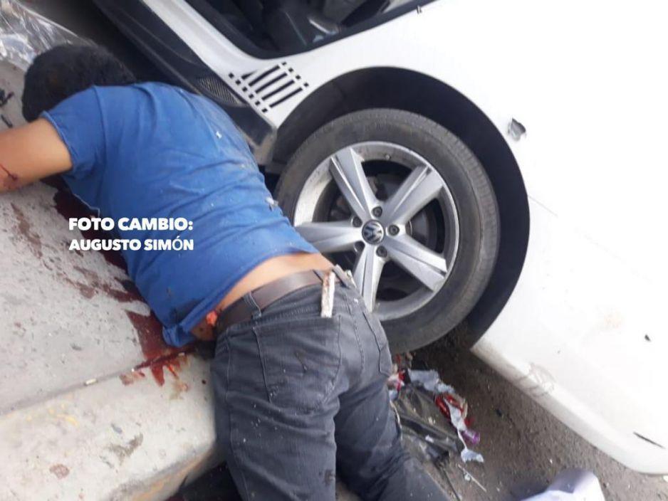 Balacera en Acatzingo de un muerto y taller mecánico lleno de heridos (FOTOS)