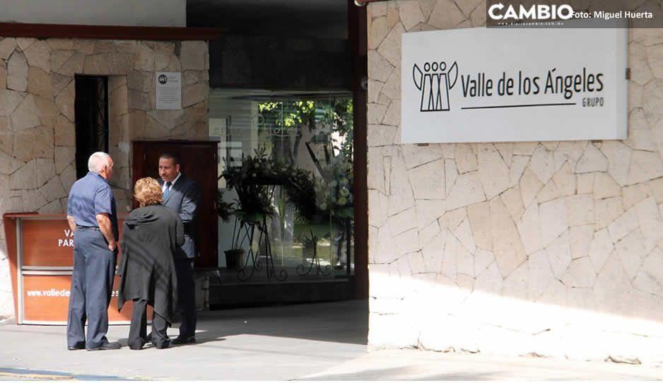 Policía Federal resguarda la funeraria donde están los restos de Martha Erika y Moreno Valle