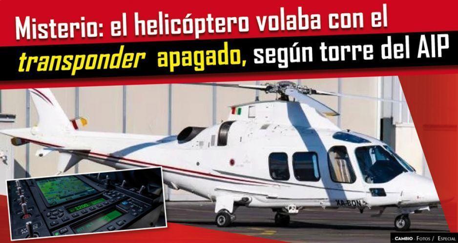 Misterio: el helicóptero volaba con el transponder apagado, según torre del AIP