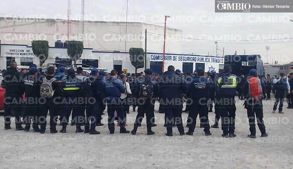 Ejército y SSP retienen a todos los policías municipales de San Martín: los investigan por colaborar con CJNG