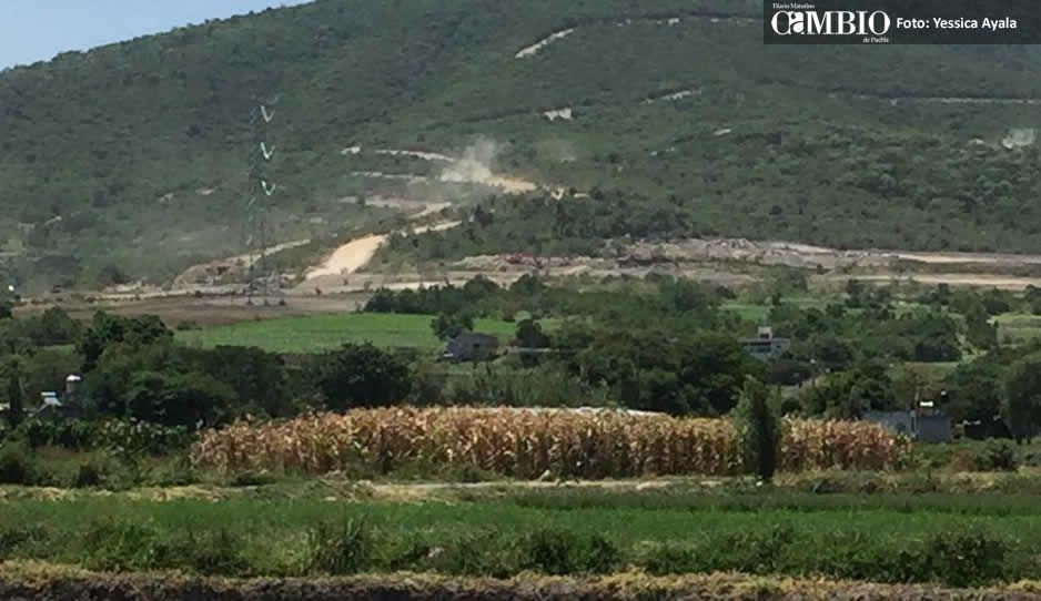 Inmobiliaria Cola de Lagarto extiende su dominio en Atlixco a costa del Tentzo