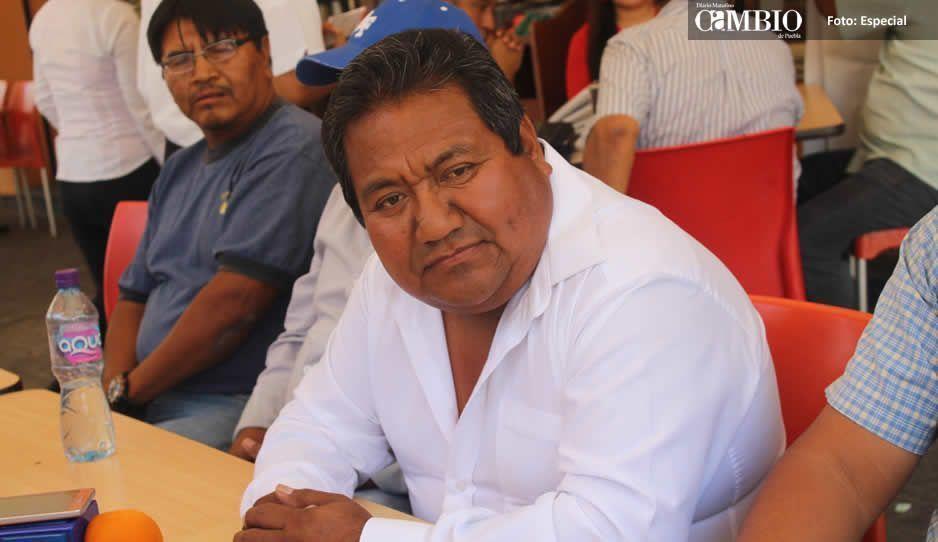 Eusebio Martínez candidato del PANAL se desmarca de acusaciones de que Crisóforo lo esté apoyando en campaña